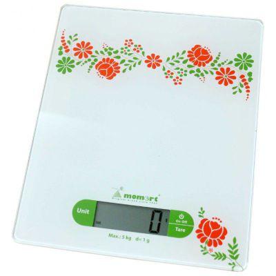 Весы MOMERT- 6852 кухонные стеклянные