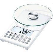Весы кухонные Beurer-Sanitas SDS-64 с индикацией в хлебных единицах, углеводах, белках, жирах, ккал