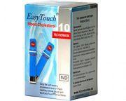 Тест-полоски Easy Touch (Изи Тач) Холестерин № 10