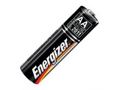 Батарейка АА (фирма-производитель может отличаться от картинки на сайте)