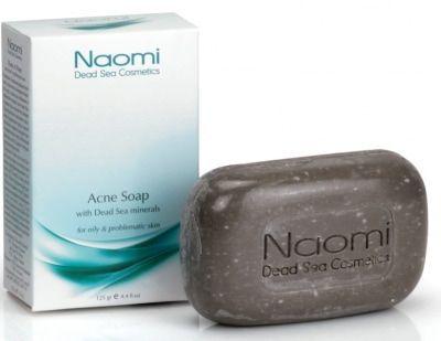 Мыло против акнэ с минералами Мертвого моря NAOMI 125 г