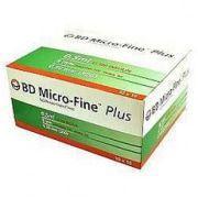 Шприц инсулиновый 0,5 мл BD Micro Fine Plus U100 8,0 мм (пакет по 10 шт)