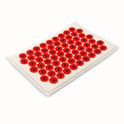 Аппликатор Кузнецова красный на мягкой подложке 17х 28см с магнитами для чувствительной кожи