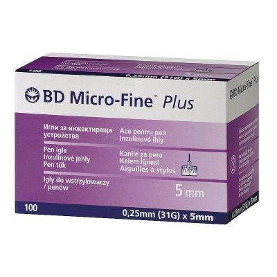 Игла к шприц-ручкам 5 мм BD Micro-Fine Plus (Микро Файн Плюс)