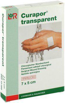 Пластырь L&R Curapor абсорбирующий прозрачный 10см х 8 см