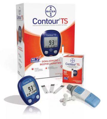 Глюкометр Contour-TS (Контур ТС) + 50 тест-полосок