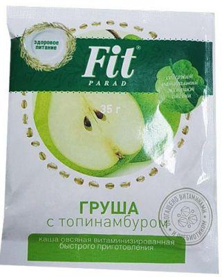 Каша овсяная Fit Parad груша с топинамбуром, 35 г