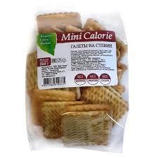 Галеты на стевии Mini Calorie 200 г