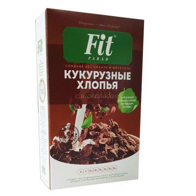 Хлопья кукурузные Фит Парад с шоколадом 200 г