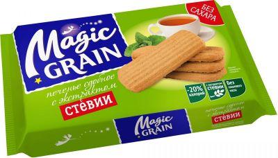 Печенье Magic Grain сдобное с экстрактом стевии, 150г