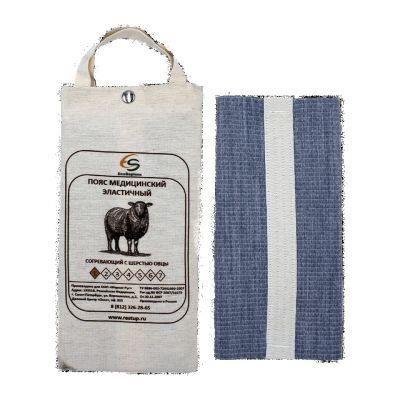 Пояс согревающий разъёмный Eco Sapience (шерсть овцы) #3 76-81