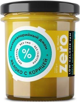 Джем ZERO Mr.Djemius низкокалорийный вкус яблоко-корица, 270 г