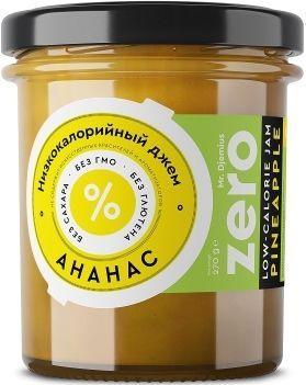 Джем ZERO Mr.Djemius низкокалорийный вкус ананаса, 270 г