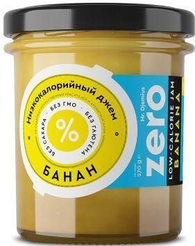 Джем ZERO Mr.Djemius низкокалорийный вкус банана, 270 г