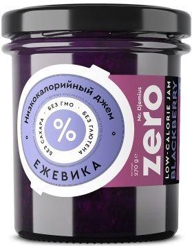 Джем ZERO Mr.Djemius низкокалорийный вкус ежевики, 270 г