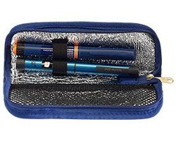 Сумка-термос для медикаментов на молнии (без хладоэлемента) 22 х 9 см