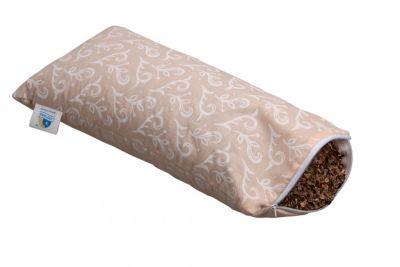Подушка Валик из гречихи 20х50