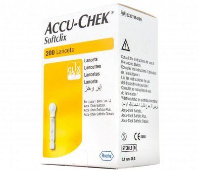 Ланцеты Accu-Chek Softclix (Акку Чек Софткликс) №200