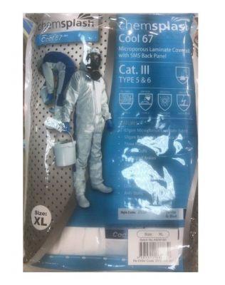 Костюм защитный противовирусный Chemsplash Cool 67