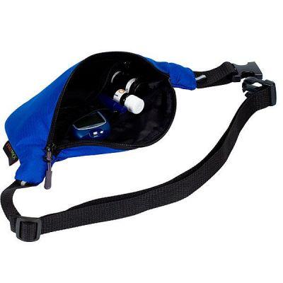 Сумка-термос поясная для помпы FREEPACK, синяя
