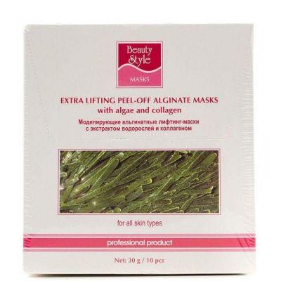 Маска-лифтинг Beauty Style моделирующая альгинатная с экстрактом водорослей и коллагеном  арт: 4503113 1 шт