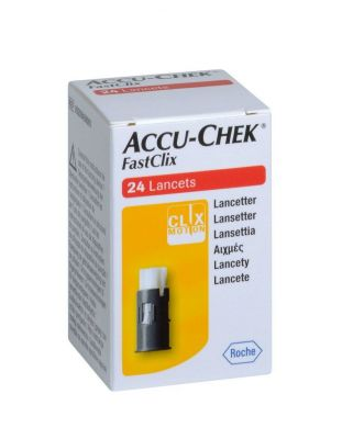 Ланцеты Accu Chek Fastclix кассета № 24 (Акку Чек Фасткликс)