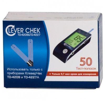 Тест-полоски Clever Chek (Клевер Чек) универсальные № 50