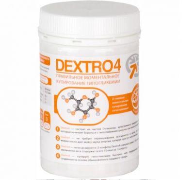 Dextro4 вкус апельсина (банка 36 таблеток)