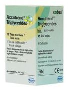 Тест-полоски Accutrend Thriglycerides N 25