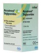 Тест-полоски Accutrend Thriglycerides N 25