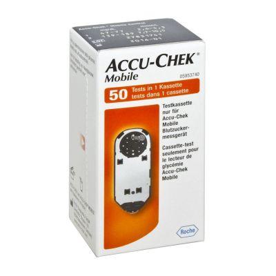 Тест-кассета Accu Chek Mobile N 50 (Акку Чек Мобайл)