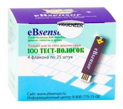Тест-полоски eBsensor № 100