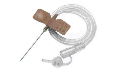 """Катетер """"бабочка""""- устройство для вливания в малые вены 26 G, SFM"""