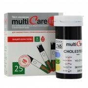 Тест-полоски Multicare in на холестерин № 25