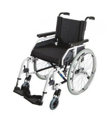 Кресло-коляска инвалидная 8018А0603 (мет. колес. пневмошины)